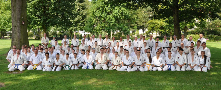 European Kyokushin Karate Camp 2014